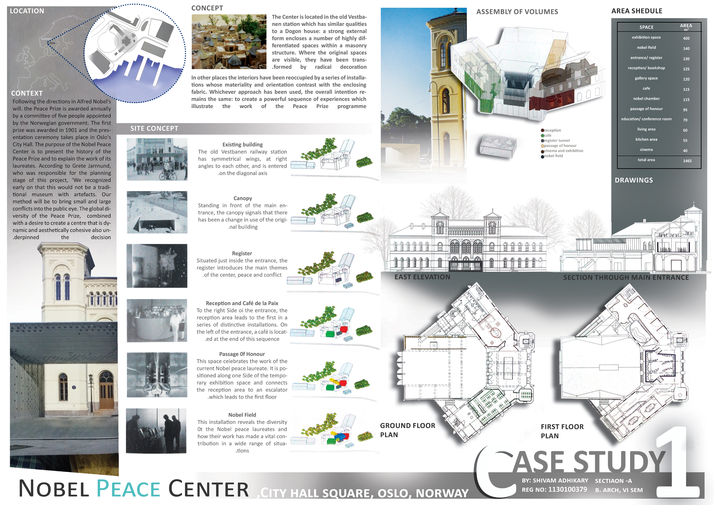 Architecture: Thesis Design Concept Board Architecture